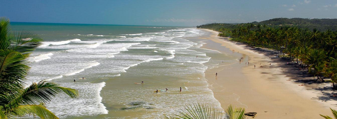 Trekking pelas quatro praias mais lindas de Itacaré