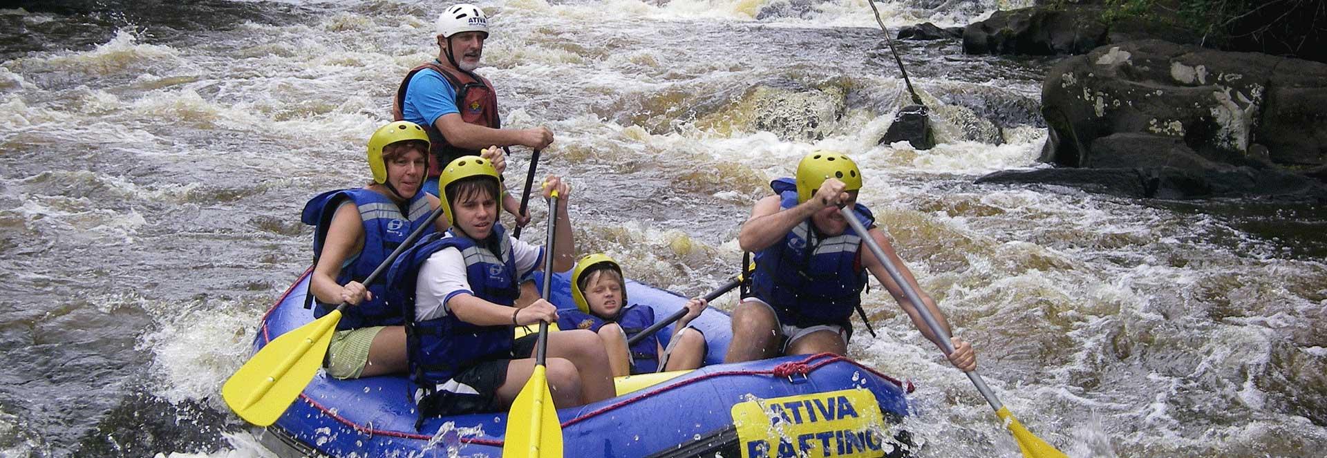 Rafting no Rio de Contas em Taboquinhas